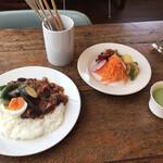 カフェ スタンド - ランチCセット(ドリンク付き)‥1,400円