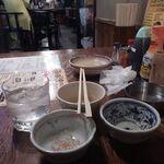 日の出横丁 - 飲みホ7杯目麦焼酎