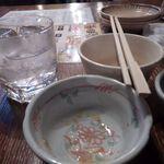 日の出横丁 - 飲みホ6杯目芋焼酎