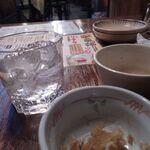 日の出横丁 - 飲みホ5杯目麦焼酎