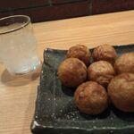 会津屋 - たこ焼き