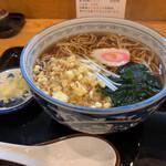 甚六 - たぬき蕎麦 700円