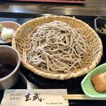 132145814 - もり蕎麦大盛り全貌 1,020円税別