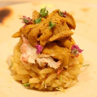 ♢絶品雲丹飯♢淡路島産ウニ北海道産毛ガニを贅沢に使った絶品飯