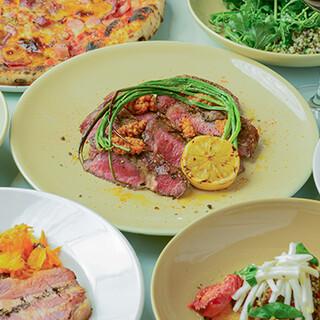 鎌倉の食材を使用したグリルが人気!季節ごとにメニューが変わる