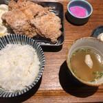 からあげ専門店 侍 - からあげランチ3個(880円)