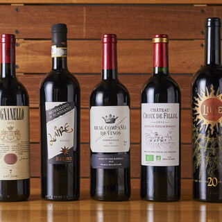 グラスワインも充実♪料理と相性抜群の【イタリアワイン】