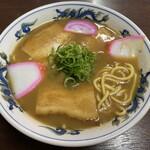 山為食堂 - ストレート中太麺