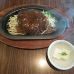 ナッツベリー - ハンバーグ焼き(もやし少なめ)