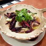 中国酒家 辰春 - 国産牛ロースと野菜の唐辛子煮