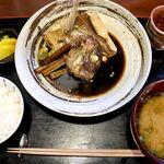 Sakanatokidokinikutada - 20200616煮魚定食