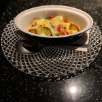 レクラン ド デリス - 野菜とラクレット
