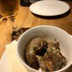 オステリアチードゥエ - 砂肝のコンフィ