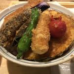 タレカツ - 野菜ヒレカツ丼(アップ1)
