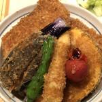 タレカツ - 野菜ヒレカツ丼(アップ2)