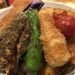 タレカツ - 野菜ヒレカツ丼(アップ3)