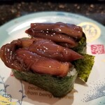 金沢まいもん寿司 - ほたるいか沖漬け。