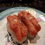 金沢まいもん寿司 - もみじこバター炙り。