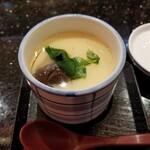 金沢まいもん寿司 - 加賀麩入り茶碗蒸し。