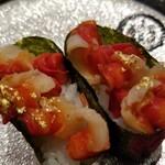 金沢まいもん寿司 - 七尾湾産・赤西貝。