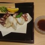 湯田 - タコの唐揚げ