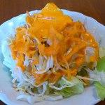 サンティ - SHANTI 板橋店 @ときわ台 ランチカレーセットに付くサラダ