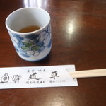 道草 - お茶と割り箸