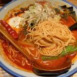AFURI辛紅 - 繊細な麺がお店の印象にピッタリ!