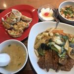 破天荒 - 料理写真:ロース飯定食