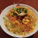 サラダニース - カレーのサラダ