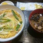 ちょう吉 - 親子丼(850円)