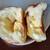 プス - 料理写真:リンゴ&クリーム&クリームチーズ(断面)。