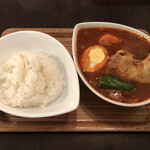 スープカレー屋 鴻 - チキンスープカレー