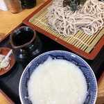 八里九里家 - 料理写真:冷やしとろろそば 700円