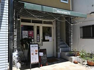 BistroCafe 712 - お店の外観