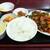 香港屋 - 料理写真:「鶏肉辛子みそ炒め」全景