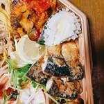 嘉文 - 魚のパン粉焼き、ピクルス、、カポナータ