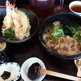 古蝶庵 - 料理写真:海老ががプリプリで旨いですね