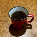 ビリー・ザ・キッド - キッド・ステーキセット ¥1,850 のコーヒー