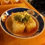132198793 - 冷製揚げ出し豆腐( ´∀` )b