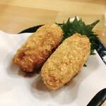 創作dining 江戸橋 - せんべろセット チキン梅しそ巻き