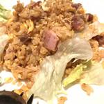四季火鍋 花椒庭 - 叉焼炒飯。