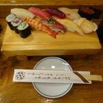 吉野鮨本店 - 3000円のにぎりセット