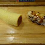 吉野鮨本店 - あとから玉子と穴子きます