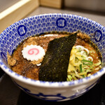 松戸富田麺絆 - 【厚つけめん(小)@870円】つけ汁