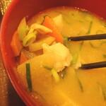 すき家 - 料理写真:とん汁