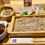 菜な - せいろ蕎麦と手桶寿司