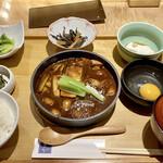 菜な - 鶏の味噌すき焼き御膳