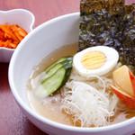 牛ぜん - 冷麺