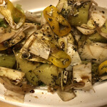 ポトフ料理ジョワ - アンデスメロンとアンディーブのバルサミコサラダ